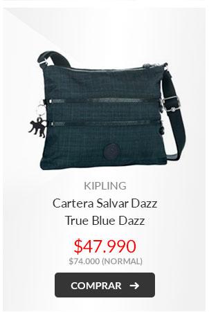 Kipling Cartera Salvar Dazz True Blue Dazz