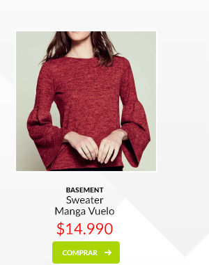 Basement sweater manga vuelo