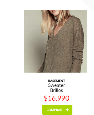 Basement sweater brillos